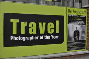 Day 511:  A rare afternoon off in London, so I headed for the Travel Photographer of the Year exhibition.  No clients, no children, nowhere to rush off to.  Just me, free to explore.