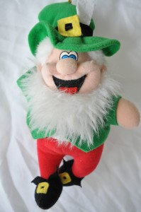 Day 19:  Getting awesome news from my friend in Ireland - no picture of the event, but a Leprechaun will do!