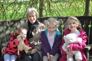 Day 39:  A sunny day at Trentham Gardens with Mum and the girls
