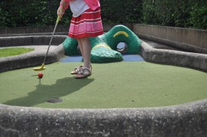 Day 83:  Crazy golf