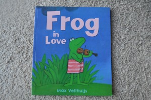 Day 124:  Loving reading the 'Frog' books to the girls at bedtime - this one in particular :)