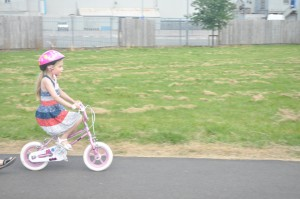 Day 123:  No stabilisers! #proud