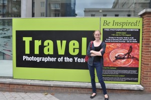 Day 154:  A lovely morning spent at the Travel Photographer of the Year exhibition in central London with my Mum