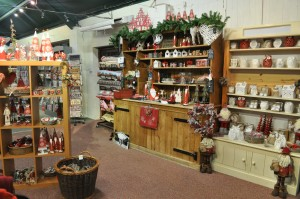 Day 256:  The Christmas shop at Amerton Farm - lots of lovely things, and it got my girls all excited about Christmas!