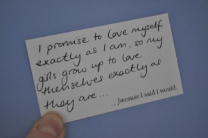 Day 259:  Finally writing a promise to myself.