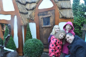 Day 283: A  little visit to Santa's Grotto :)