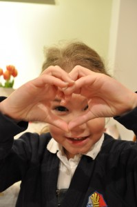 """Day 317:  """"This heart is for everyone Mummy"""""""