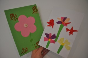 Day 373:  Receiving these lovely hand-made Mothers Day cards after a gorgeous Mothers Day assembly at school