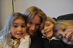 Day 376:  Cuddles with these three after school (and them being willing for me to capture it on camera)