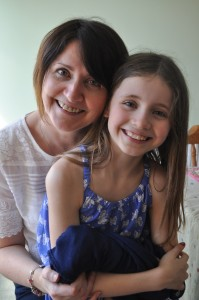 Day 397:  A visit from my beautiful friend and her gorgeous daughter