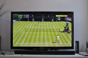 Day 482:  Watching Wimbledon :)