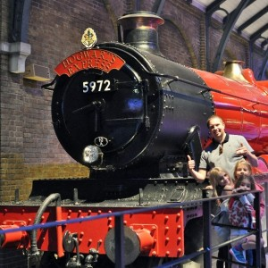 Day 529:  All five of us have been looking forward to today for months - we visited the Harry Potter Studio Tour.  It more than exceeded our expectations and we had a wonderful family day making memories together