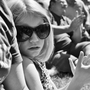 Day 479:  Shugborough Country Show. A glorious day in the sunshine.  We watched a sheep dancing show and ate ice creams.  This is Mimi wearing my sunglasses, looking way cooler in them than I do.
