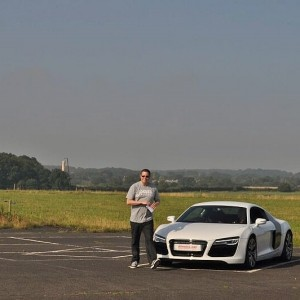 Day 521:  My husband's birthday is very close to Christmas ad I always prefer to buy experiences rather than 'things'.  Last year I gave hima Supercar Driving experience.  We finally got round to booking it and he loved every second of it :)