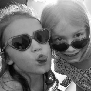 Day 404:  Heart sunglasses rule
